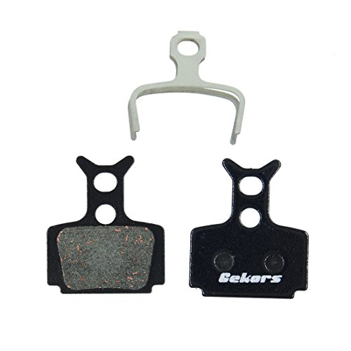 Gekors Semi-Metallic Bicycle Disc Brake Pads for Formula The OneR0R1RXC1Mega  1 Pair with a Spring Black