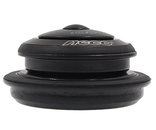 NECO Black Semi Integrated Mountain Bike Bicycle Cycling Threadless Headset 151-18 Stem 44-55mm Headtube