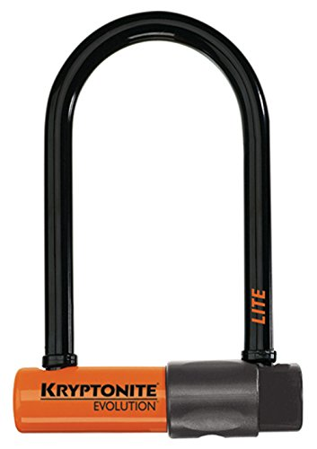 Kryptonite Evolution Lite Mini-6 Heavy Duty Bicycle U Lock Bike Lock 275 x 6-Inch