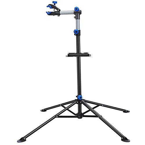 Yaheetech Adjustable 52 to 75 Pro Bike Repair Stand w Telescopic Arm Balancing Pole Cycle Bicycle Rack