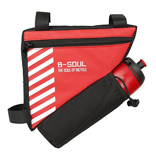 Lixada Bike Triangle Frame Bag Bike Rear Seat Bag Bicycle Tool Storage Pouch Cycling Saddle Tail Packs Bike Storage Bag