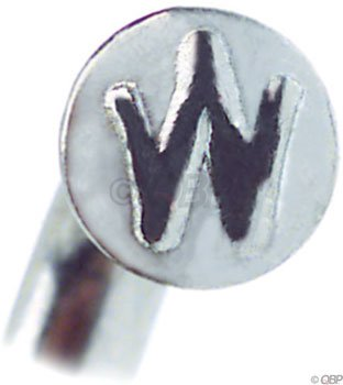 Wheelsmith Spokes Pack of 50 Silver 20 x 292mm