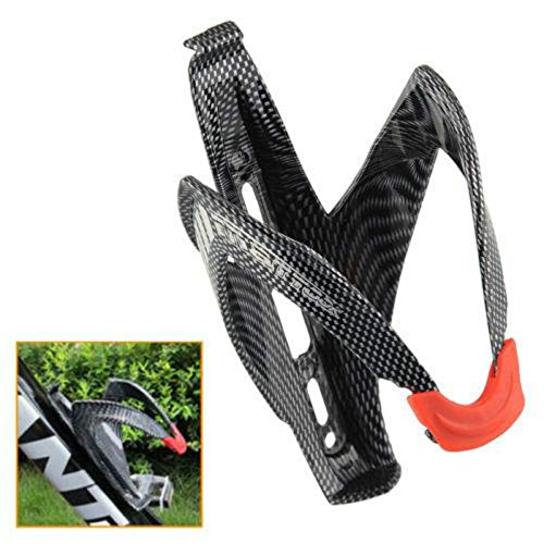 Bicycle Cycling Water Bottle Holder Cages Carbon Fiber Mountain Bike Holding Rack Cage Lightweight