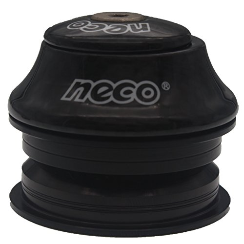NECO 1-18 Carbon Fiber Semi-integrated Bicycle Headset 44mm Headtube