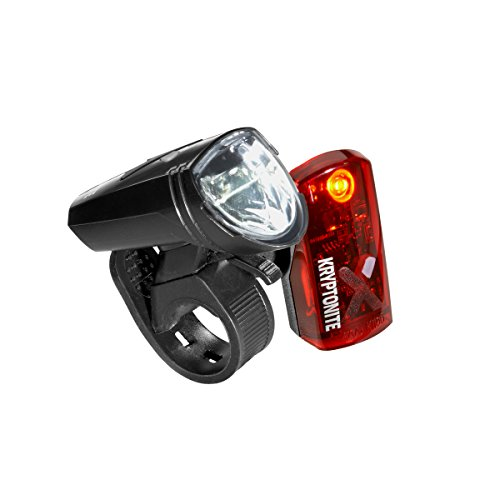 Kryptonite Pulsar F-65 FrontPulsar R-14 To SeeBe Seem Rear Rechargeable USB LED Bicycle Light 2 Pack