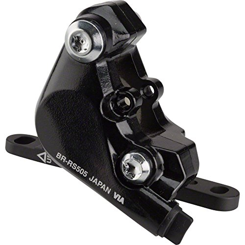 Shimano Flat Mount Road Bicycle Hydraulic Disc Brake Caliper - BR-RS505 Front