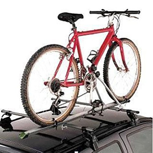 Cherry Queen Aluminum Upright Car Roof Top Foldable Bike Bicycle Cycling Rack Carrier SUV VAN