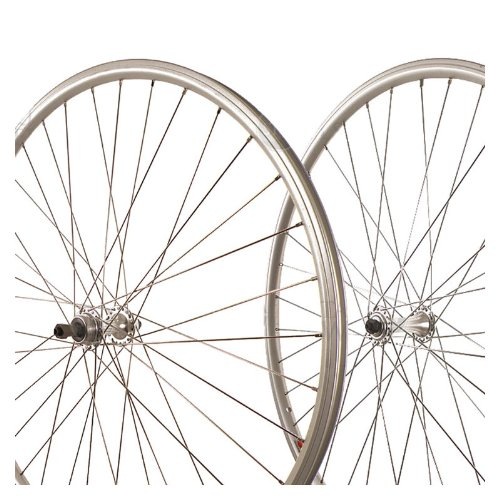 Sta-Tru Silver Alloy Road Hub Front Wheel 700X25