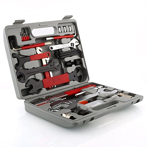 Deckey 48 Pcs Multi-Function Bicycle Maintenance Tools Bike Repair Tool Kit