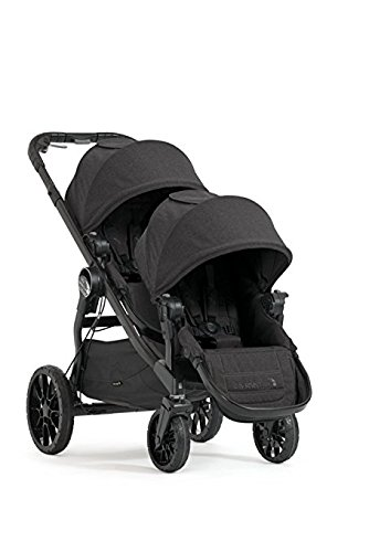 Baby Jogger 2017 City Select LUX Double Stroller - New Model Granite