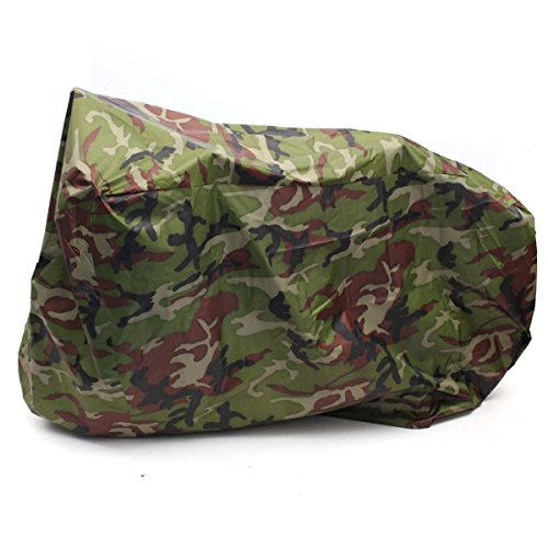 OUTERDO 190T nylon waterproof bike  bicycle cover camouflage