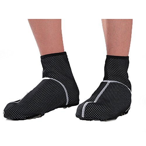 Men Winter Autumn Thermal Fleece Warm Cycling Shoes Cover Bike Bicycle Overshoes Windproof
