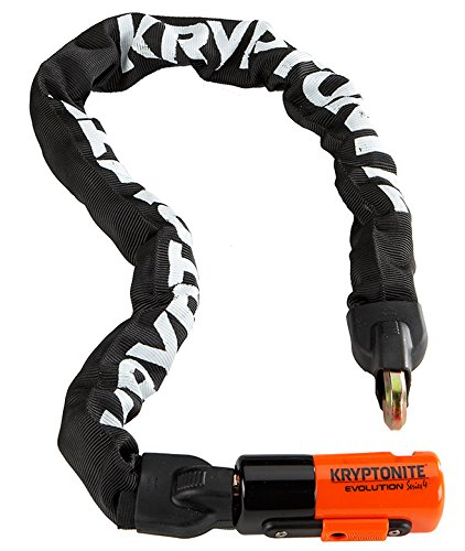 Kryptonite Evolution Series-4 1090 Integrated Chain Bicycle Lock Bike Lock 355