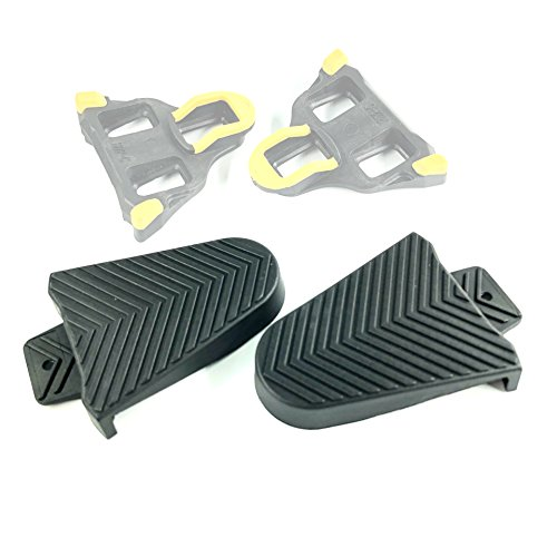Thinvik Bicycle Shoe Cleat Rubber Cover Set for Shimano SPD-SL Pedal Cleats Systems