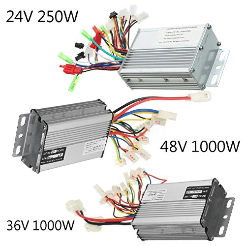 24V36V48V 250W1000W Electric Scooter Speed Controller Motor For Bike Bicycle 48V 1000W