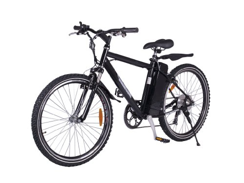 X-Treme Alpine Trails Electric Mountain Bicycle Black