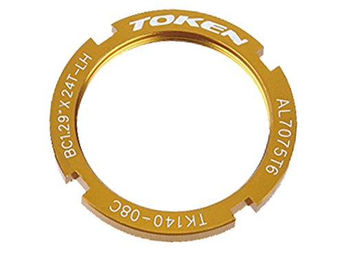 Token Products Lock Ring for Track Fixed Gear Sprocket Gold