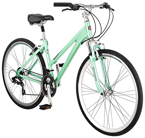 Schwinn Womens Siro Hybrid Bicycle 700c Wheel Small Frame Size Light Green